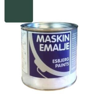 Esbjerg maskinmaling Mørk Grøn 10209