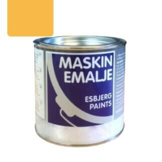 Esbjerg maskinmaling Entreprenørgul RAL 1007 68036