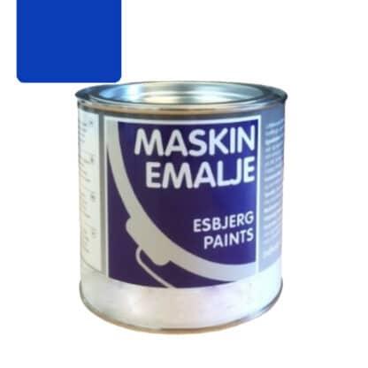 Esbjerg maskinmaling Leyland blå 74042