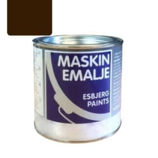 Esbjerg maskinmaling Fiat brun 75044