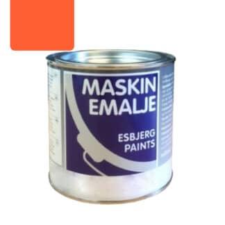 Esbjerg maskinmaling kromorange salta 75052