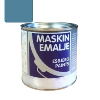 Esbjerg maskinmaling Øverum blå 75068