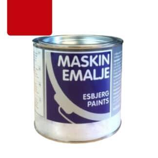 Esbjerg maskinmaling Tim rød 82039