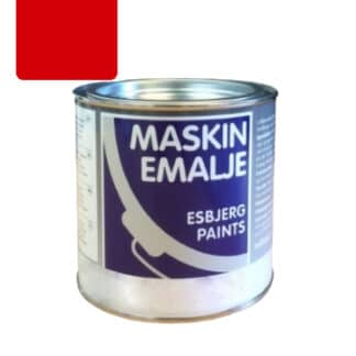 Esbjerg maskinmaling MF Super Red Kverneland rød 84036