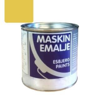 Esbjerg maskinmaling Clayson gul 84144