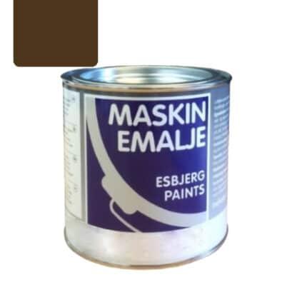 Esbjerg maskinmaling Dronningborg brun 85143