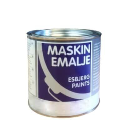 Esbjerg maskinmaling blank hvid 10217
