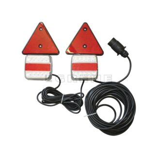 LED Magnet lygtesæt til trailer