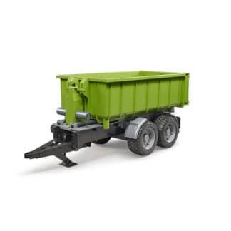 Bruder Kroghejsevogn m/container 02035