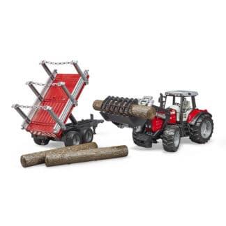 Bruder traktor sæt (02046)