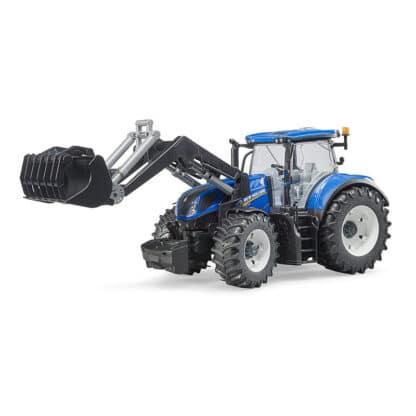 Bruder traktor 03121 New Holland T7.315 m/frontlæsser