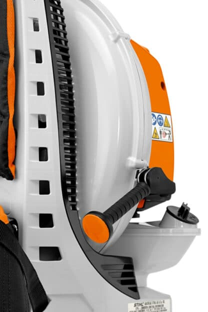 Stihl BR800 C-E rygbåret blæser detalje
