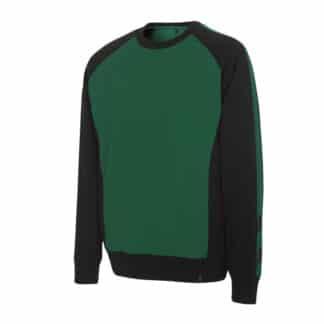 Sweatshirt Witten grøn sort