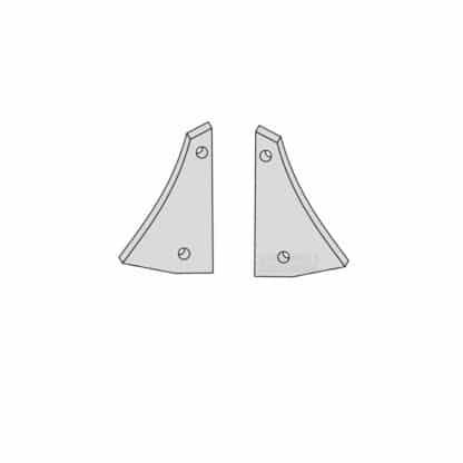 Øverum XL, Agrolux AX brystplade 94596, 94597