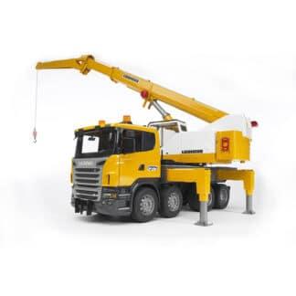 Bruder Scania kranbil 03570