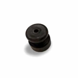 Almindelig sort slagfast isolator træpæle, tentorpæle