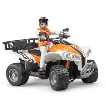 Bruder 63000 ATV med mand