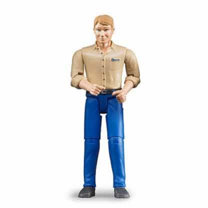 Bruder mand, blå bukser 60006