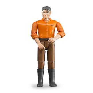 Bruder mand brune bukser 60007