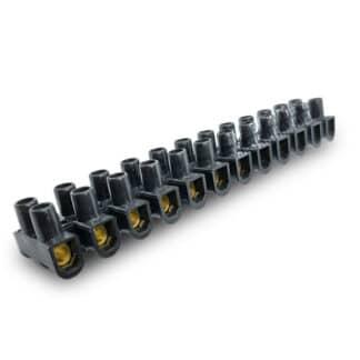 Kronmuffe / klemrække til 2.5, 4, 6, 10, 16 mm² kabel